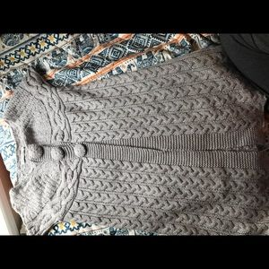 Gray cardigan size small
